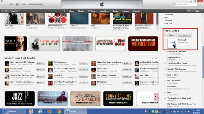 Spencer Day DAYBREAK #1 on iTunes Jazz